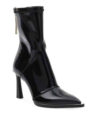 Neoprene Zip Pointed Booties