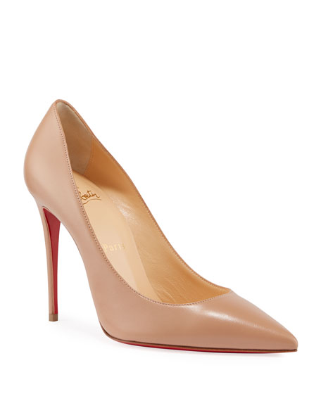 sale retailer f427f 76801 Kate 100mm Napa Red Sole Pumps