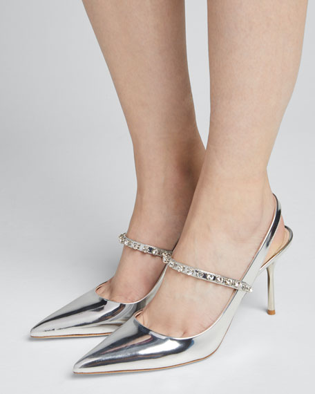 Pointed Metallic Crystal Pumps