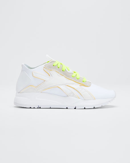 Bolton Neon Sock Sneakers