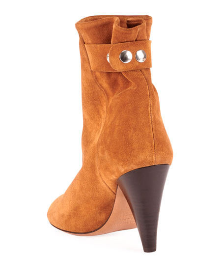 Lystal Soft Suede Booties
