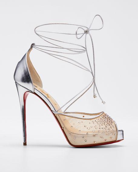 Maia Labella Alta 120mm Red Sole Sandals