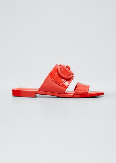 Taryn Jelly Gancini Slide Sandals