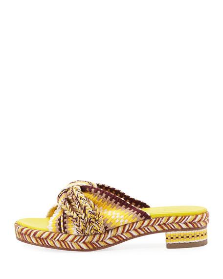Bella Braided Slide Sandals