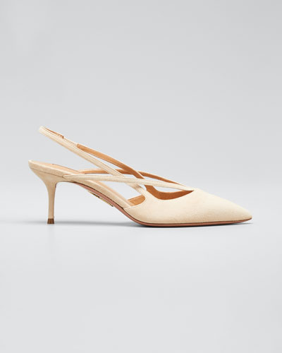 Soul Suede Pointed Pumps