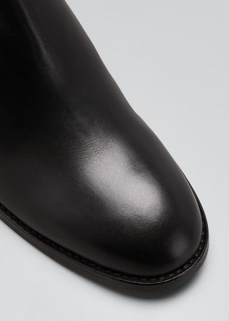 Jemma 40mm Leather Gored Booties