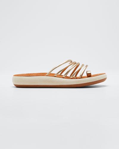 Hypathia Comfort Metallic Sandals