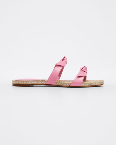 Clarita Leather Slide Sandal
