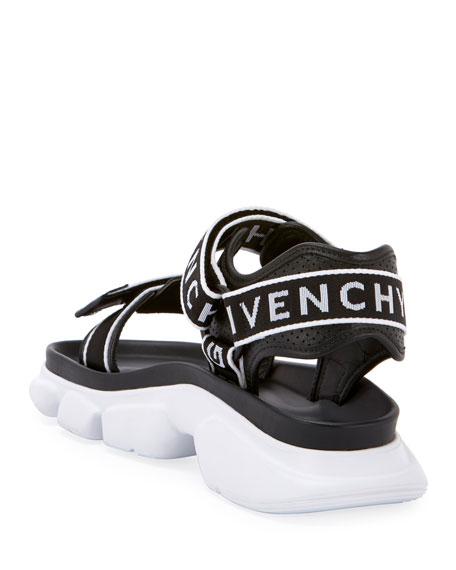 Jaw Logo Web Sandals