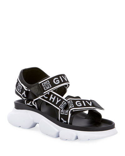 Jaw Logo Web Sandals