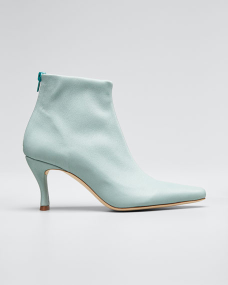 Stevie Mint Stretch Booties