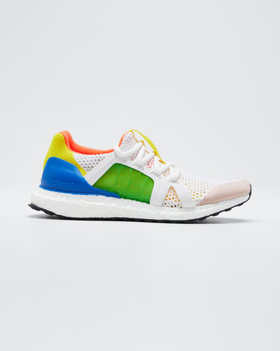 Ultraboost Colorblock Stretch Mesh Sneakers
