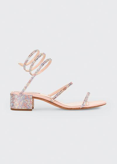 Crystal Snake 40mm Sandals
