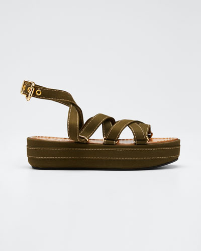 Adventurer Platform Ankle Sandals