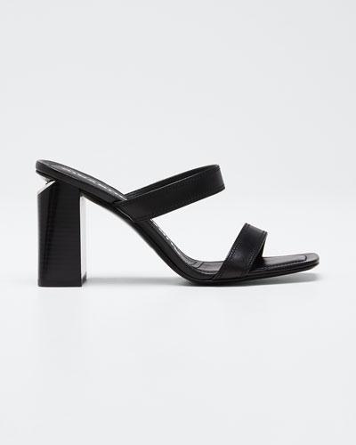 Hayden Calf Slide Sandals