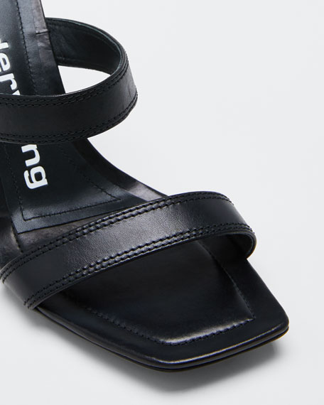 Hayden Calf Slide Sandals