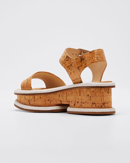 Bradley Platform Cork Sandals