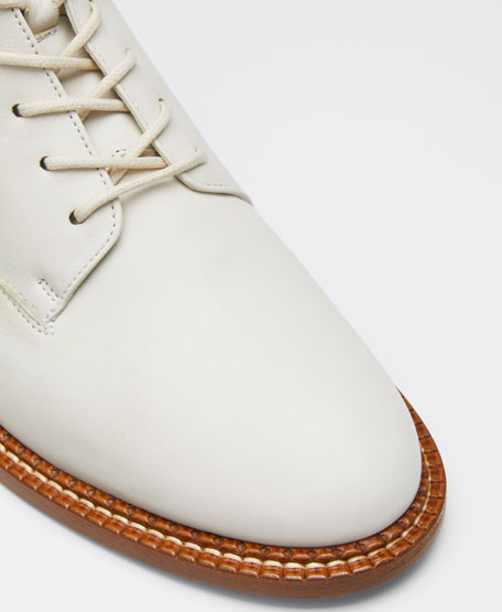 Cabria Leather Combat Lace-Up Booties