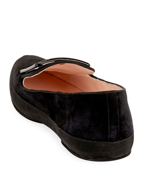 Viv' Lounge Flat Suede Loafers