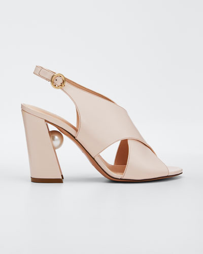 Miri Crisscross Slingback Sandals