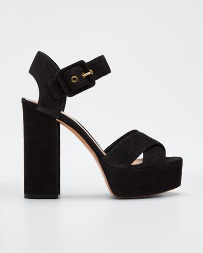 Essential Platform Ankle Sandals