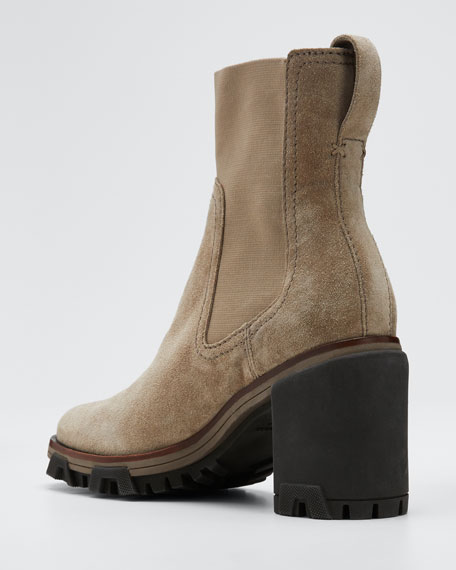 Shiloh High Suede Booties
