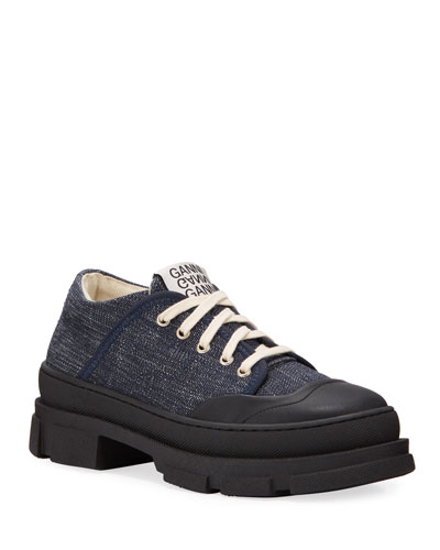 Hybrid Denim Canvas Sneakers