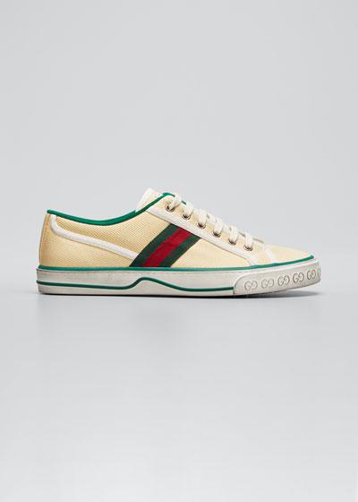 Vulcan 78 Tweed Web Strap Tennis Sneakers