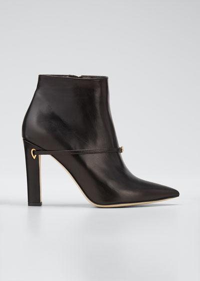 Nico 105mm Leather Booties