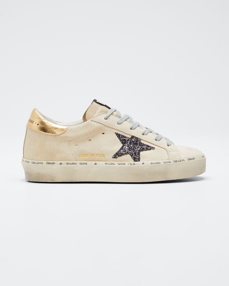 Hi Star Suede Low-Top Sneakers