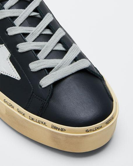 Hi Star Leather Low-Top Sneakers