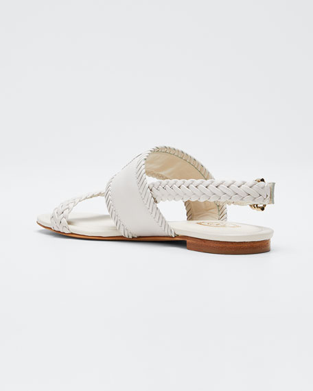 Selleria Woven Flat Sandals