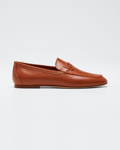 Selleria Woven Flat Loafers