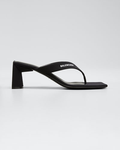 60 mm Logo Thong Sandals