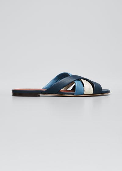 Aida Flat Slide Sandals