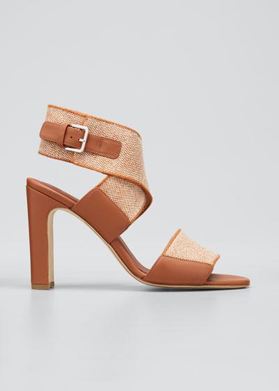 Kalahari Crisscross Ankle Sandals