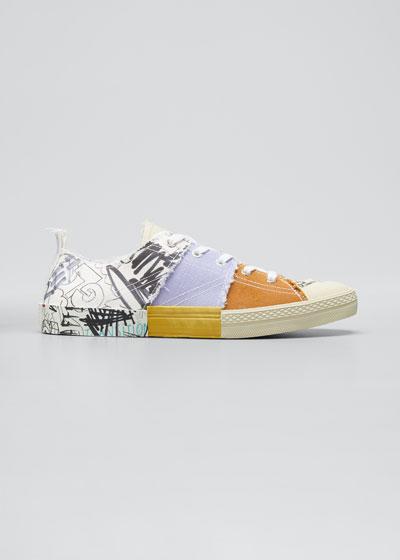 Graffiti Low-Top Sneakers