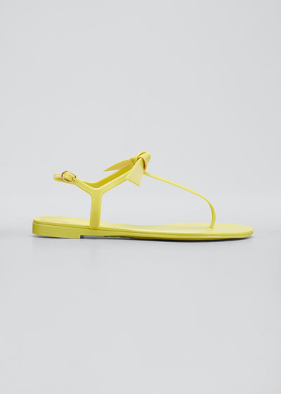 Clarita Jelly Thong Flat Sandals