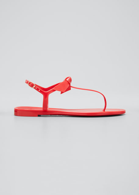 Clarita Jelly Knot Thong Sandals