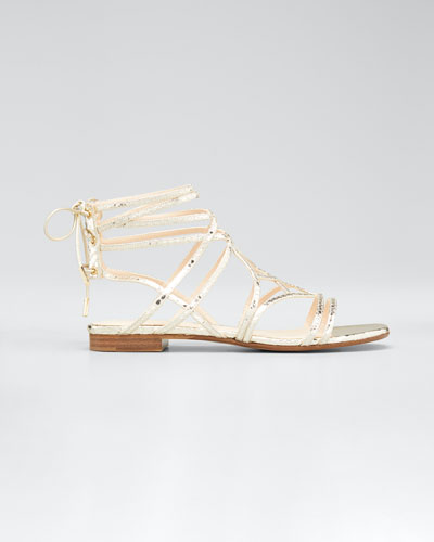 Selina 10mm Metallic Sandals