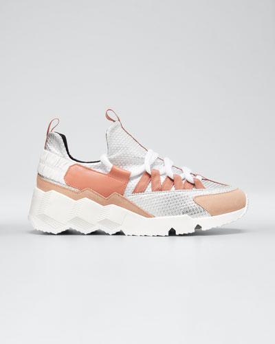 Trek Comet Neoprene/Leather Sneakers