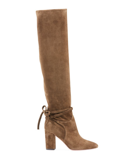 Milano Scrunched Knee-High Boot