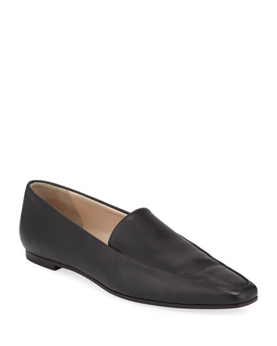 Minimal Loafers - Leather