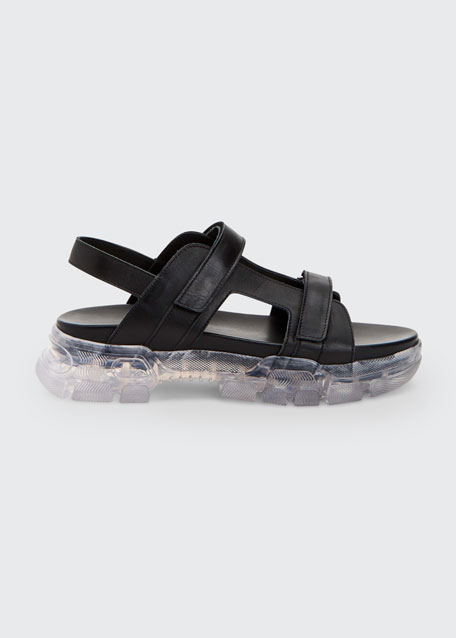 Darby Double Strap Leather Sport Sandals