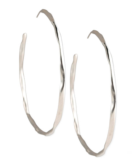 Squiggle Hoop Earrings