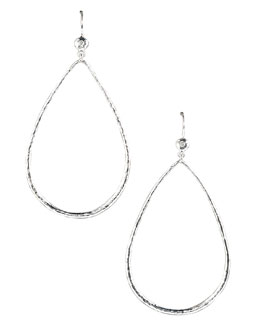 Ippolita Open Teardrop Earrings with Diamonds
