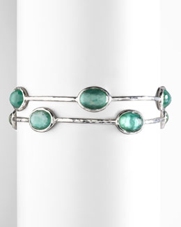 Ippolita Five-Stone Wonderland Bangle
