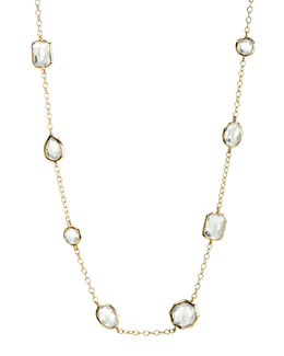 Ippolita Mini Gelato Necklace, Clear Quartz