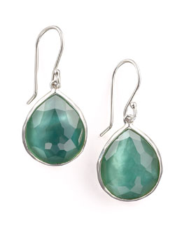 Ippolita Wonderland Teardrop Earrings, Mint