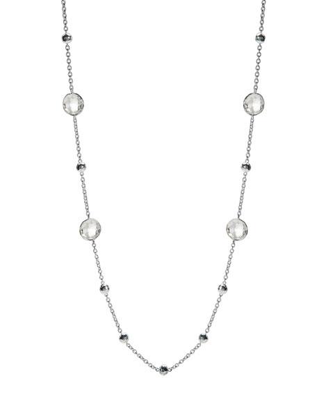 Lollipop Glamazon Necklace, Clear Quartz